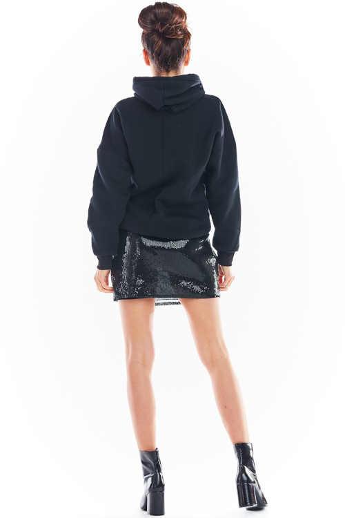 Cekinowa spódnica z elastyczną talią