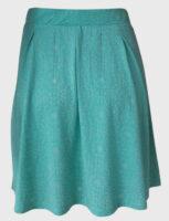 Lekka i prosta letnia spódnica z elastycznym paskiem w talii