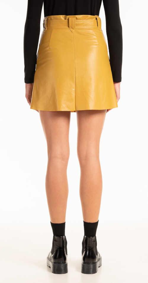 Mini spódniczka z imitacji skóry