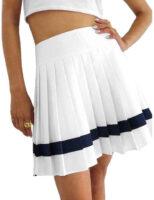 Stylowa plisowana spódnica damska Reebok o krótkiej długości