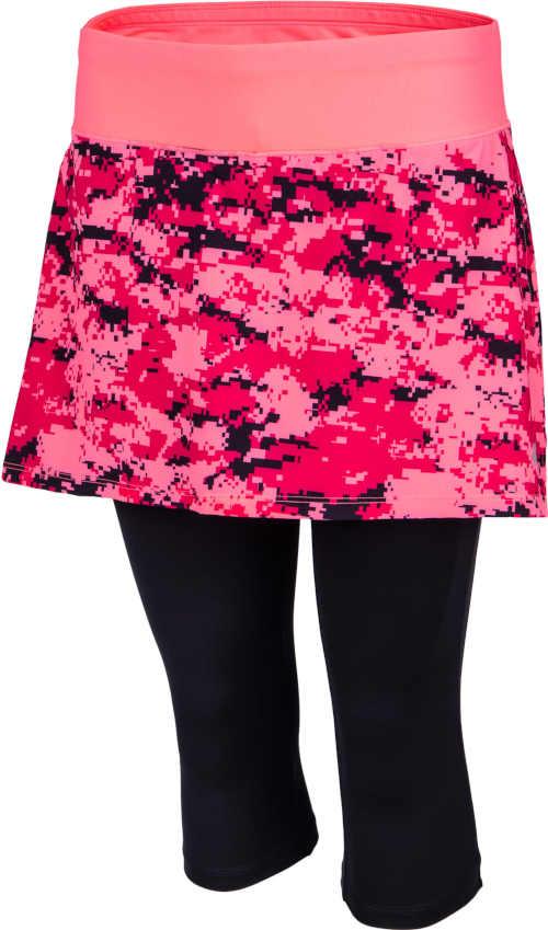 Damska spódnica sportowa z legginsami w kolorze