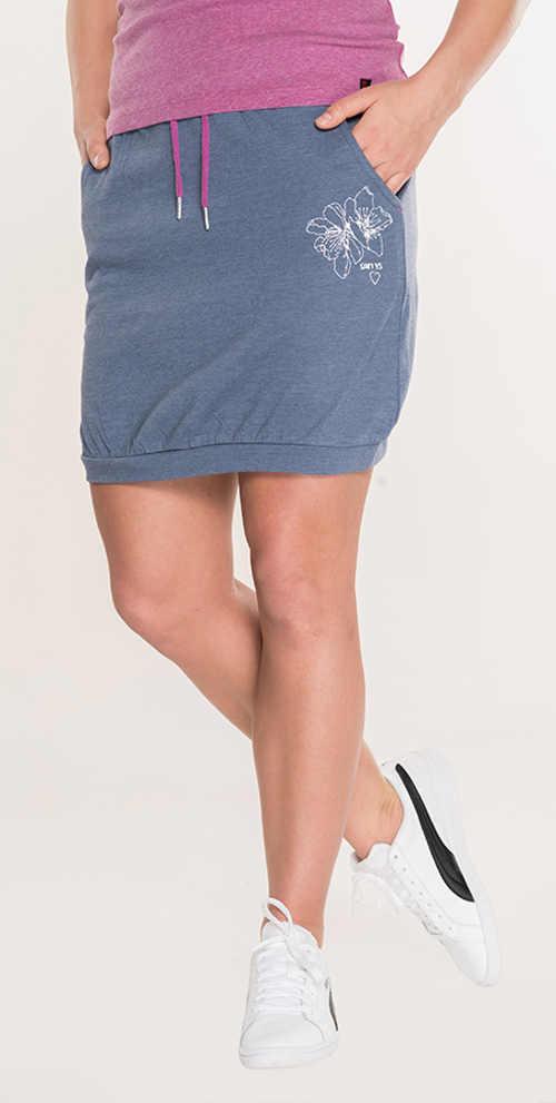 Tanie spodnie dresowa letnia spódnica z talią sznurka